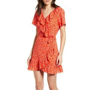 NWT Cupcakes & Cashmere Kiley Wrap Dress Red Hot